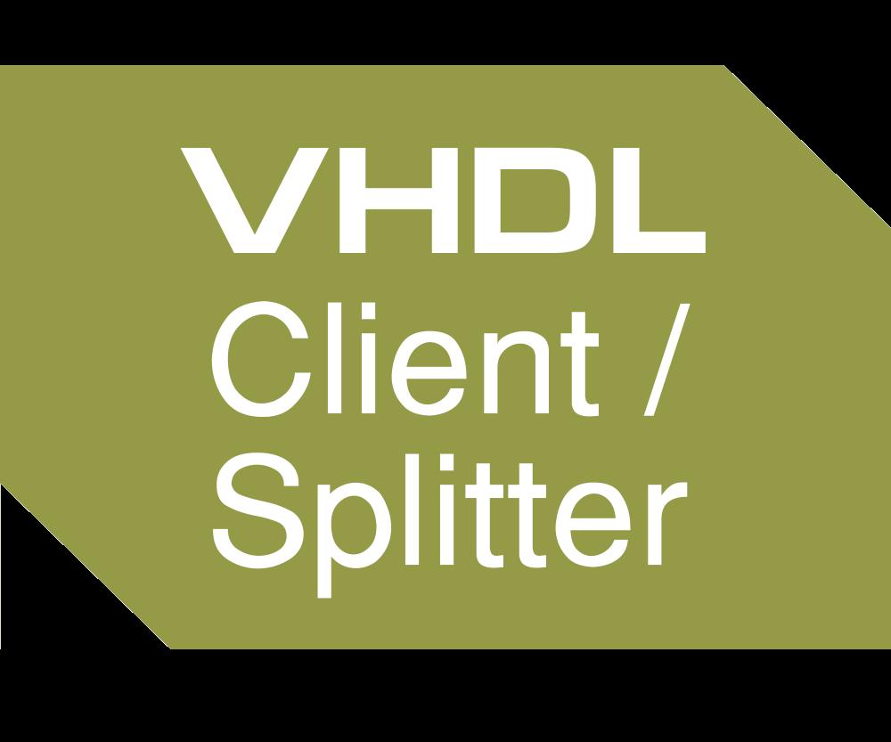 VHDL Client & Splitter Image